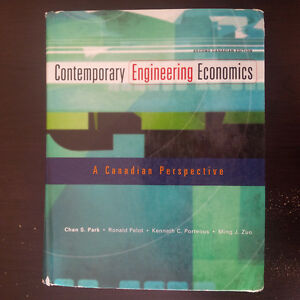 Contemporary Engineering Economics: A Canadian Perspective, 2e