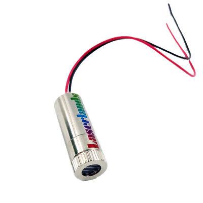 Focusable 5mw-10mw 405nm Violetblue Laser Dot Diode Module Ld 3vdc-5vdc