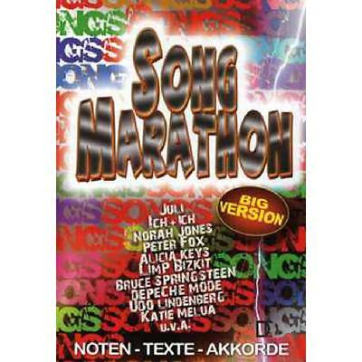Song Marathon - Big Version  SONGBOOK NEU!! 978-3-941312-17-3