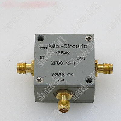1pc Used Mini-circuits Zfdc-10-1 1-500mhz Rf Sma Rf Coaxial Directional Coupler