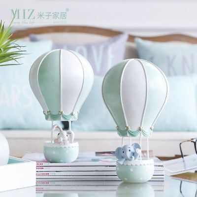 Hot Air Balloon Animal Figurine Toy Birthday Gift For Kids Home Decoration - Hot Air Balloon Toy