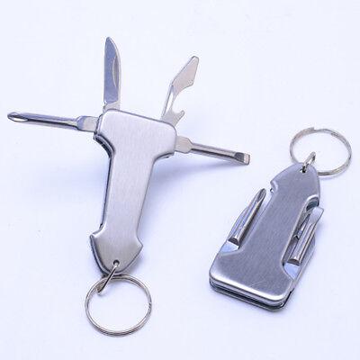Pocket Multifunctional Gadget Mini Foldable Knife Pocket Screwdriver Key Chain