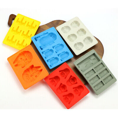 Star Wars Silicone Mould Cup Cake Chocolate Mould Ice Cube Baking Soap Chocolate