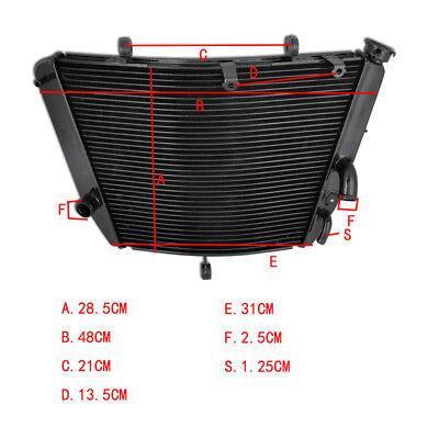 Cooling Radiator Cooler For SUZUKI GSXR600 GSXR750 2006-2015 GSX-R600 06-09