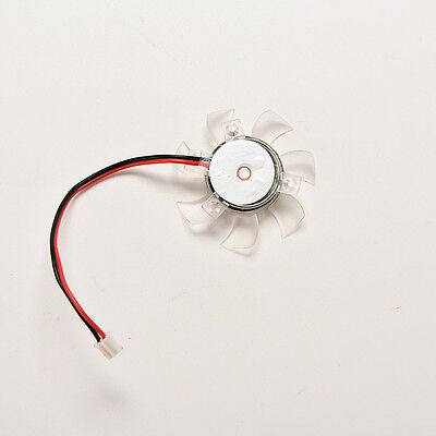1X PC GPU VGA Video Card Heatsink Cool Cooling Fan 45mm 2pin Hole to Hole 39mSTH