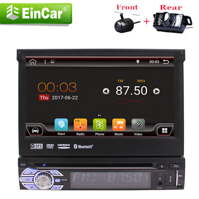 "GPS Navi Segregate 1 Din 7"" Android 6.0 Central Auto Car Stereo Radio DVD Player"