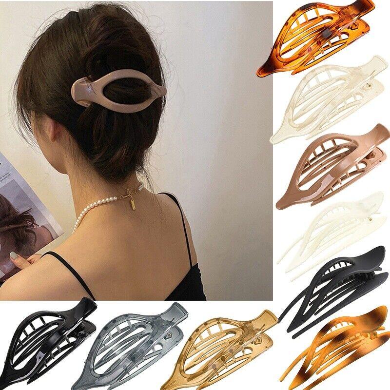 Acrylic Claw Simple Hair Clip Women Gilrs Duckbill Clip Hairpin Hair Accessories