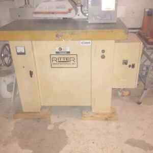 Ritter shaper with power feeder Kitchener / Waterloo Kitchener Area image 1