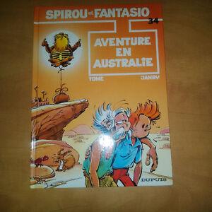 Spirou et Fantasio «Aventure en Australie» #34 - Tome & Janry