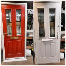 Upvc composite door