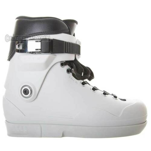 Them Skates 909 Aggressive Inline Boot Only Dual Mens 9.0/10.0 White NEW