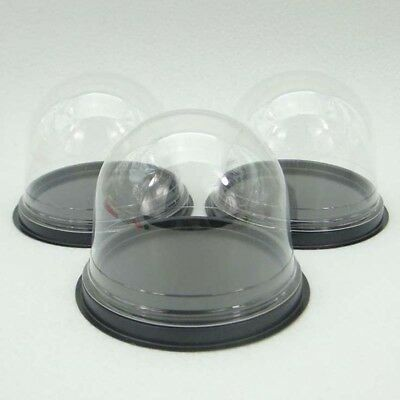 50sets Clear Plastic Cupcake Packaging Box Cake Dome Wedding Favors Box Gift Box