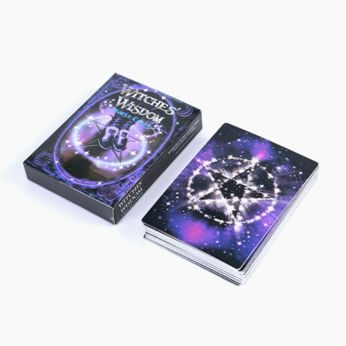 Witches Wisdom Oracle Cards 47 Cards Tarot Card Deck Set