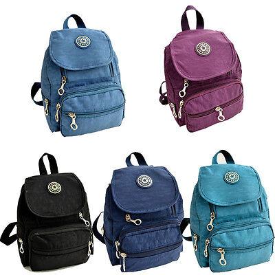 Nylon leisure Backpack Rucksack School Satchel Hiking Bag Bookbag Elegant