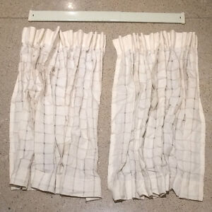 Curtains Drapery Beige (Off-White)