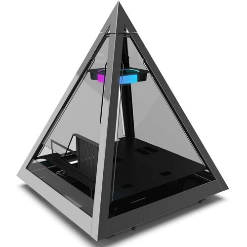 Special Pyramid Design Gaming PC Computer Case RGB ATX Black Cases Fast Delivery
