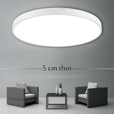 LED Ceiling Down Light Dimmable Bedroom Flush Mount Kitchen Lamp Panel Fixture Bedroom Ceiling Lamp