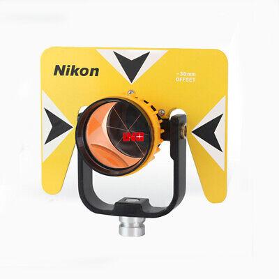 New Single Prism Reflector Set For Nikon Total-station Surveying