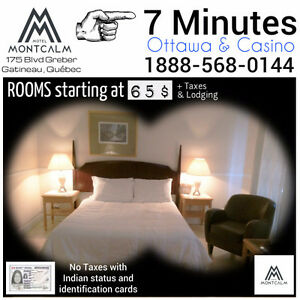 OTTAWA-7 min AWAY- Special price- CLEANS ROOMS 65$&+