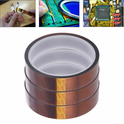 4pcs High Temp Tape Polyimide Film Adhesive Tape High Temperature Tape For Heat