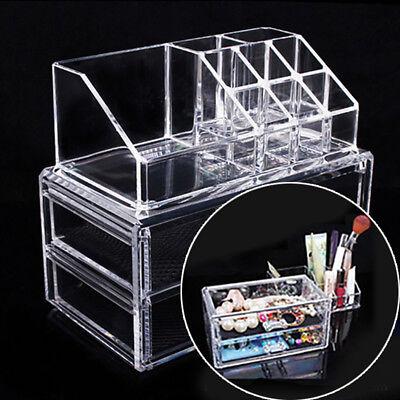 Schmuck Lagerung Veranstalter Storage Organizer Schublade Im Feld Klar Acryl ()