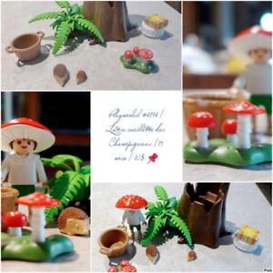 Playmobil #4194   Lutin cueillette des Champignons  15 mcx   10$