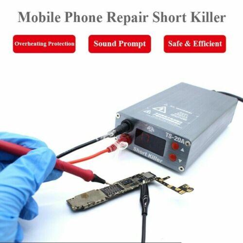 TS-20A 0-20A Short Killer PCB Short Circuit Fault Detector Box for Phone Repair