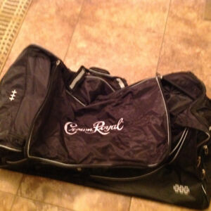 Limited edition Crown Royal hockey bag new never used!