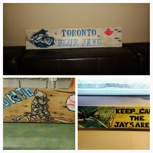 Blue Jays wall art