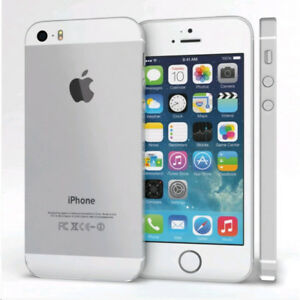 Apple iPhone 5S - 16GB - White/Silver (Fido) Smartphone.