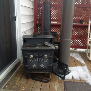 Heritage Wood Stove with Blower