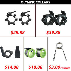 Collars Clamp Spring Lock Bar Olympic Hex Aluminum Star Collar