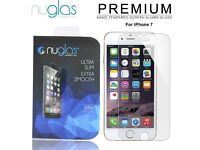 20 x Original Nuglas Japanese Tempered Glass Screen Protector for iPhone 7 & 7 Plus NEW