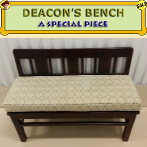 DEACON'S BENCH - GOOD QUALITY /  CONDITION