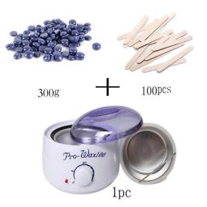 Nouveau Kit d'épilation à la cire dépilatoire/ New waxing kit