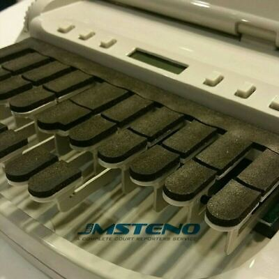 Steno Writer Thick Foam Keytop Covers For Stenograph
