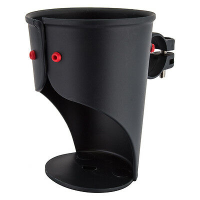 DELTA Holdits Grande Cup Holder Bicycle Handlebar Mount Black new