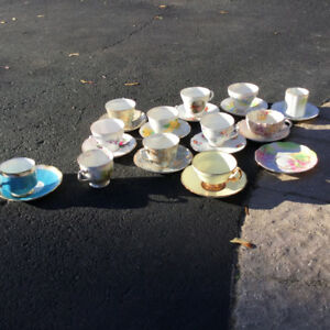 Tea cups from england