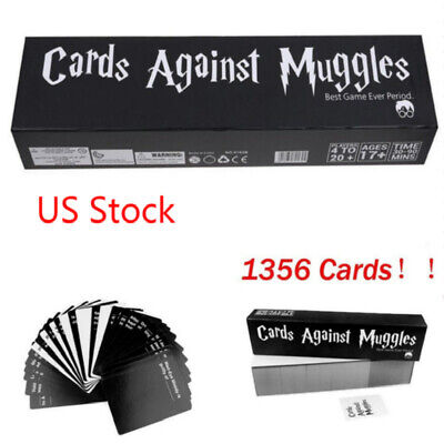 Hot US Stock Popular Cards Against Muggles 1356 Cards Table Game Party Home Gift