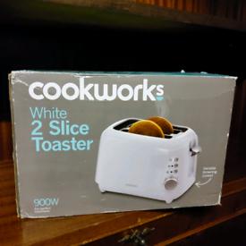 Cookwork's 2 Slice Toaster