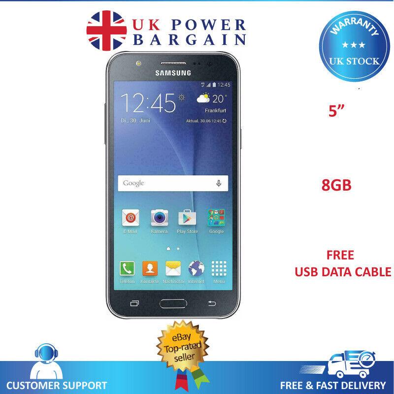 Android Phone - SAMSUNG Galaxy J5 J500 Black  Dual SIM Android Smart Phone Unlocked Grade A
