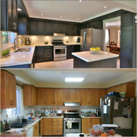 ▶Kitchen Cabinets ▶Painting ▶Refacing▶Countertops