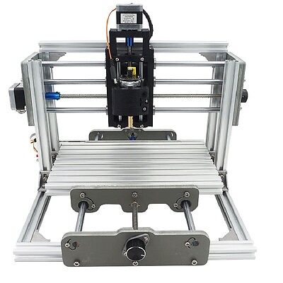 3 Axis Diy Cnc Router Kit Wood Metal Engraving Milling Machine 2500mw Laser
