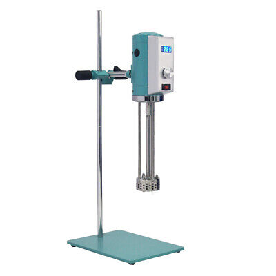 220v Digital High Speed Shear Mixer Mixing Emulsifying Machine Lab Homogenizer