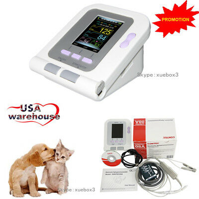 Digital Vet Veterinary Blood Pressure Monitorbp Cuff For Dogcatpets Probe