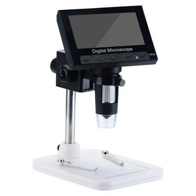 4.3in Lcd 1000x Desktop 8 Led Digital Microscope Endoscope 1080p Hd 2mp Camera