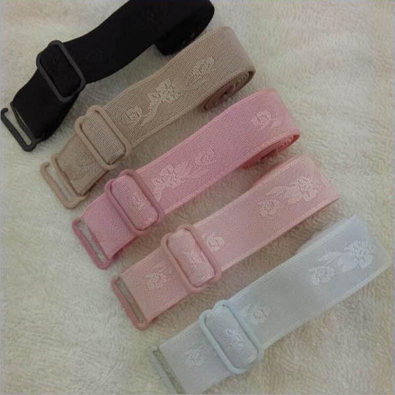 farbige BH Träger, 18 mm, elastisch, Metallverschuß in 7 Farben