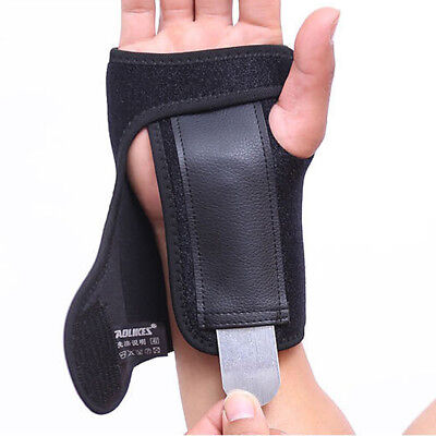 Wrist Brace Support Carpal Tunnel Hand Splint Steel Bone Arthritis Sprain (Wrist Splints Carpal Tunnel)
