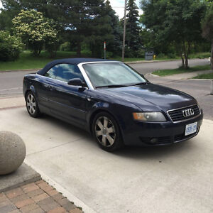 2006 Audi A4 1.8t Convertible w/ Safety