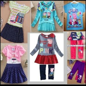 Peppa Pig dress,dresses,t-shirts,leggings,jackets,swim suit,top